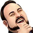 Modified Twitch Emote LUL Flipped
