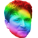 KappaPride emoticon medium resolution download link