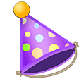 PartyHat emoticon large resolution download link