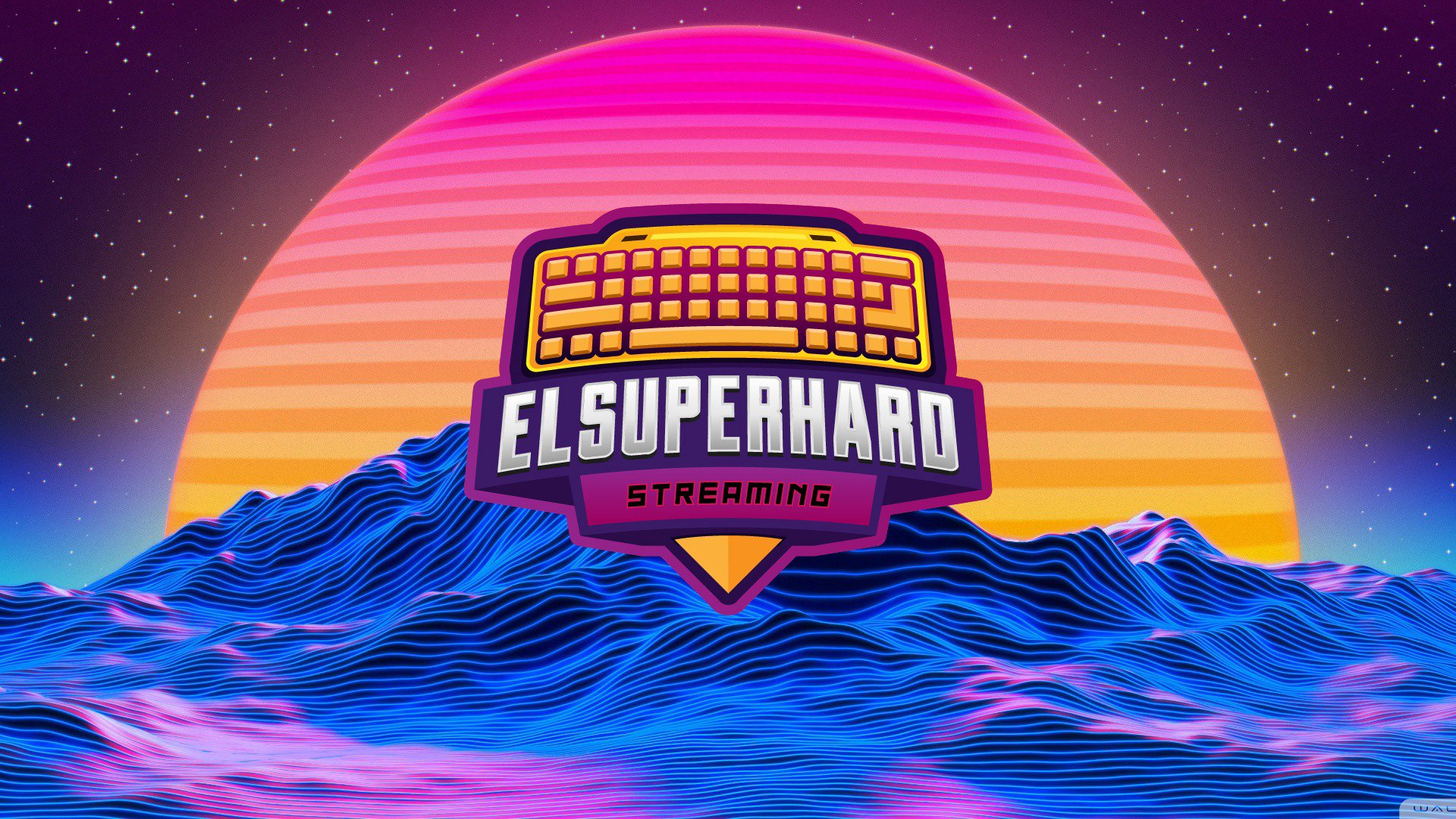 Twitch stream of elsuperhard