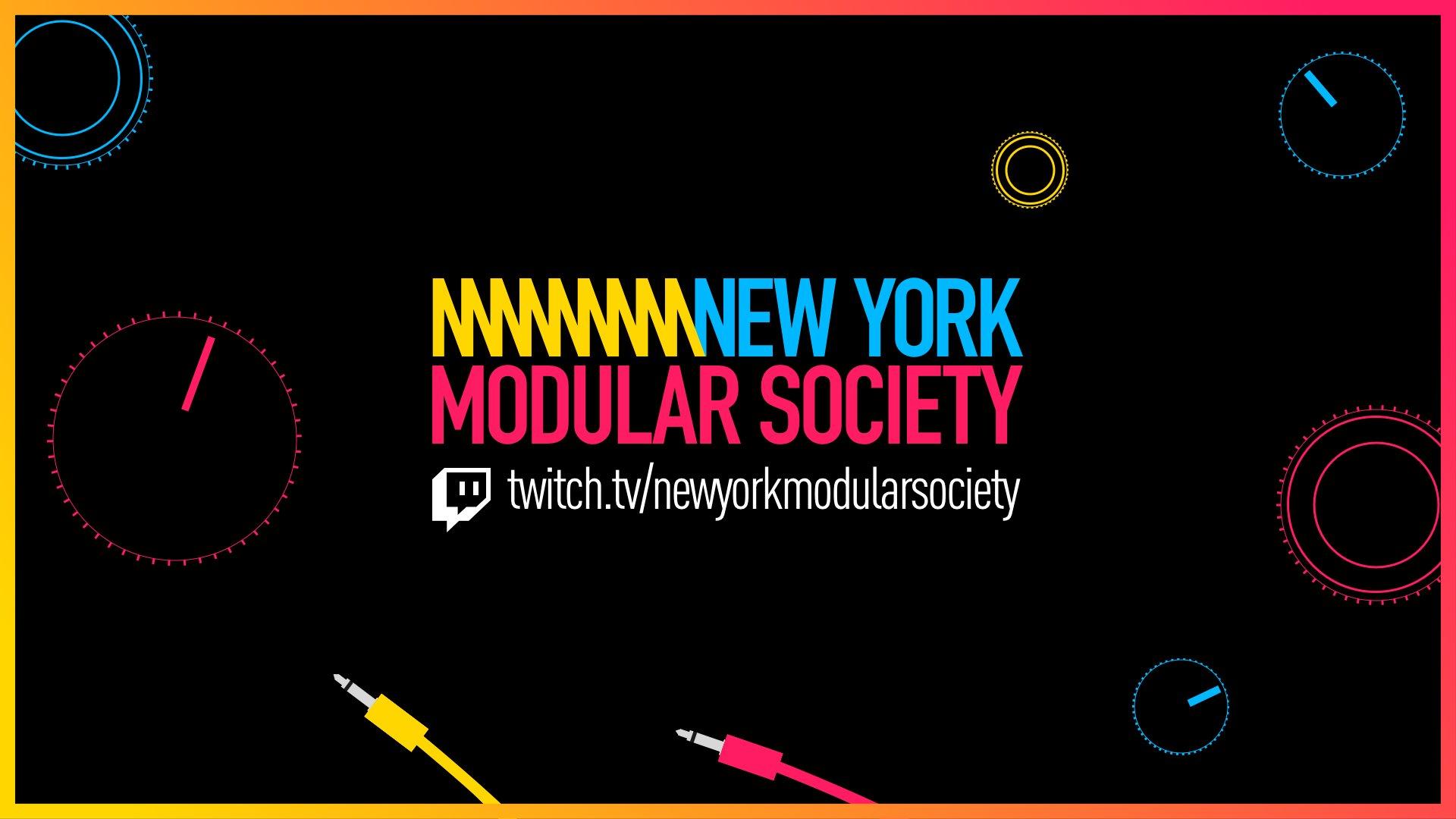 Twitch stream of NewYorkModularSociety