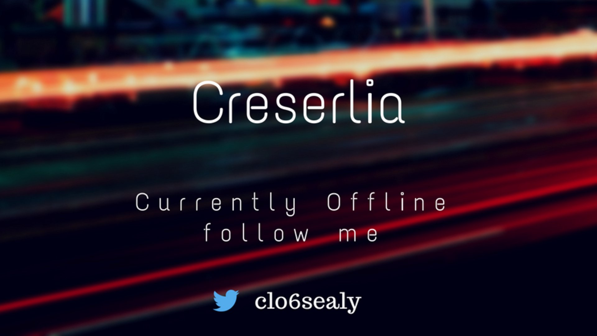 Twitch stream of Creserlia