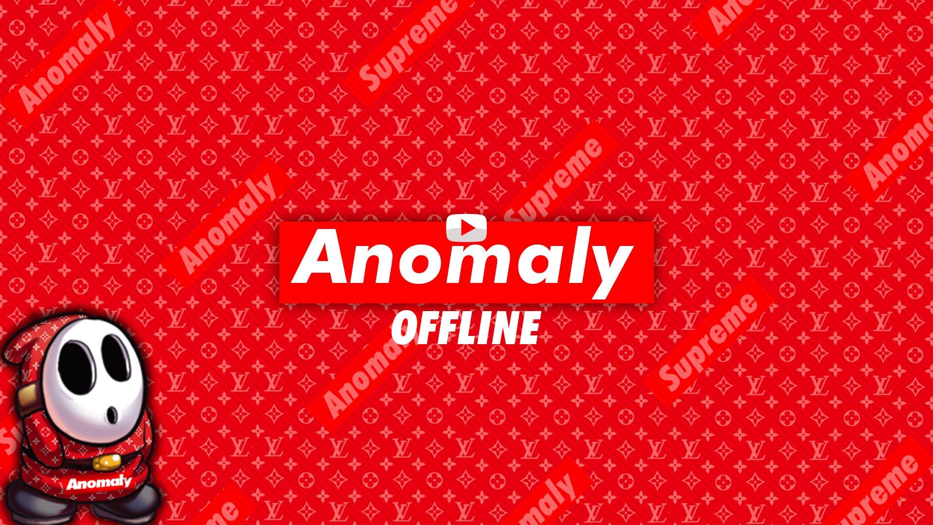 Twitch stream of Anomaly