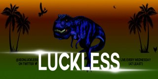 Profile banner for luckless