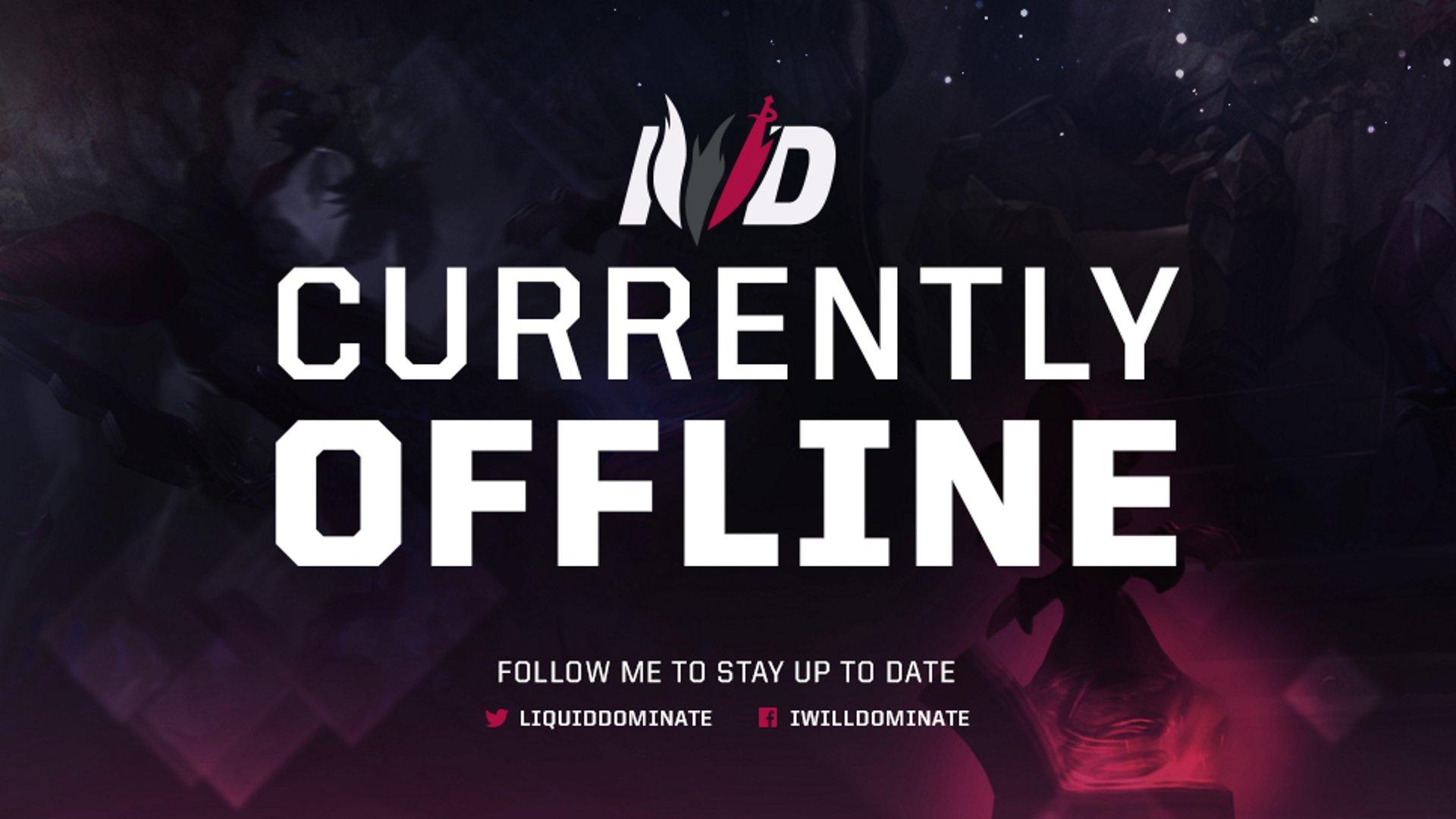 Twitch stream of IWillDominate