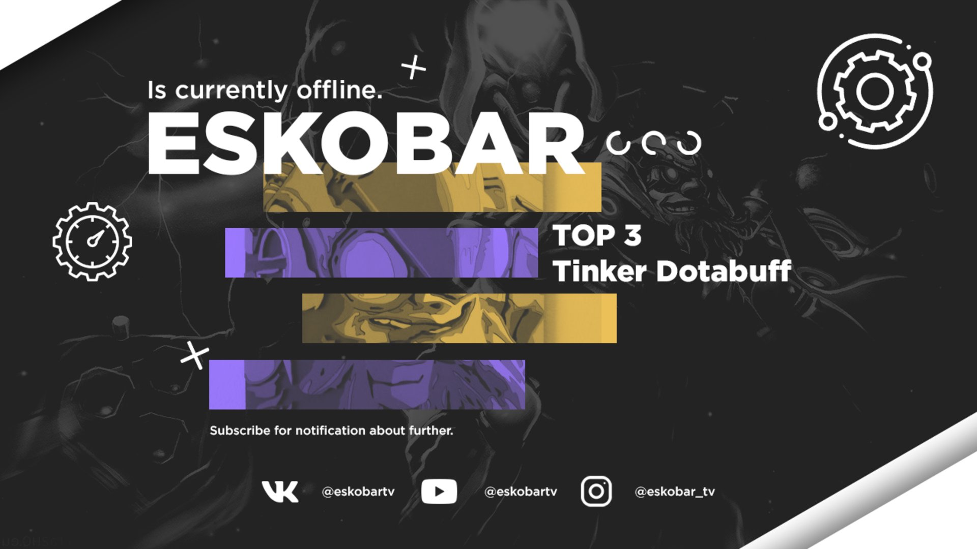 Twitch stream of EskobarTv