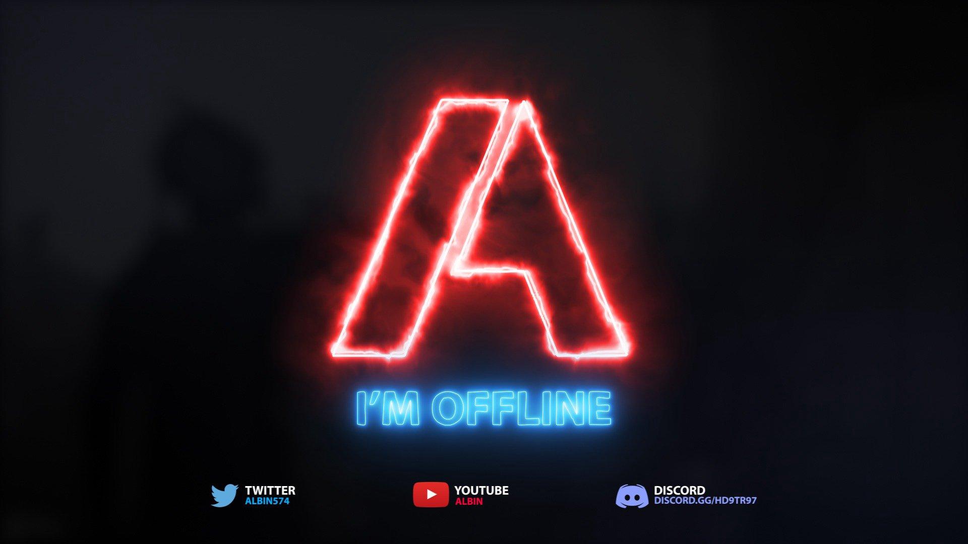 Twitch stream of Albin