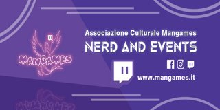 Profile banner for mangames_associazione