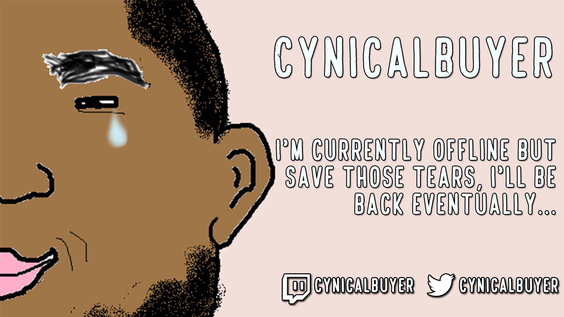 Twitch stream of CynicalBuyer