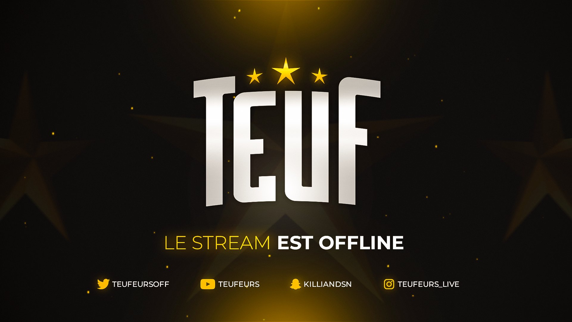 Twitch stream of Teuf