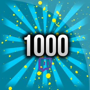 1000 Twitch Avatar