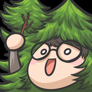 超級森林木 Logo