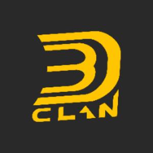 3DCLANru Logo