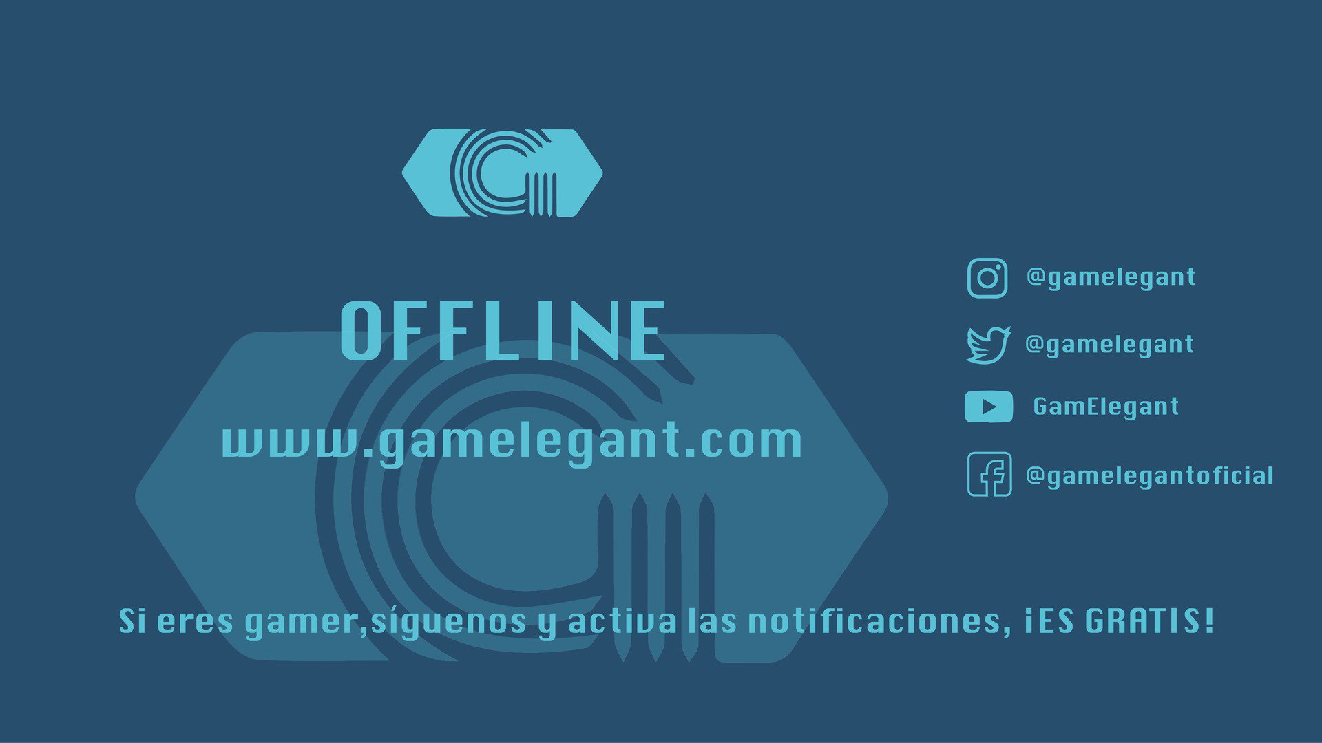Twitch stream of GamElegant