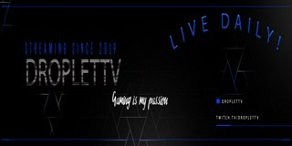 Profile banner for droplettv