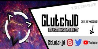Profile banner for clutchjd