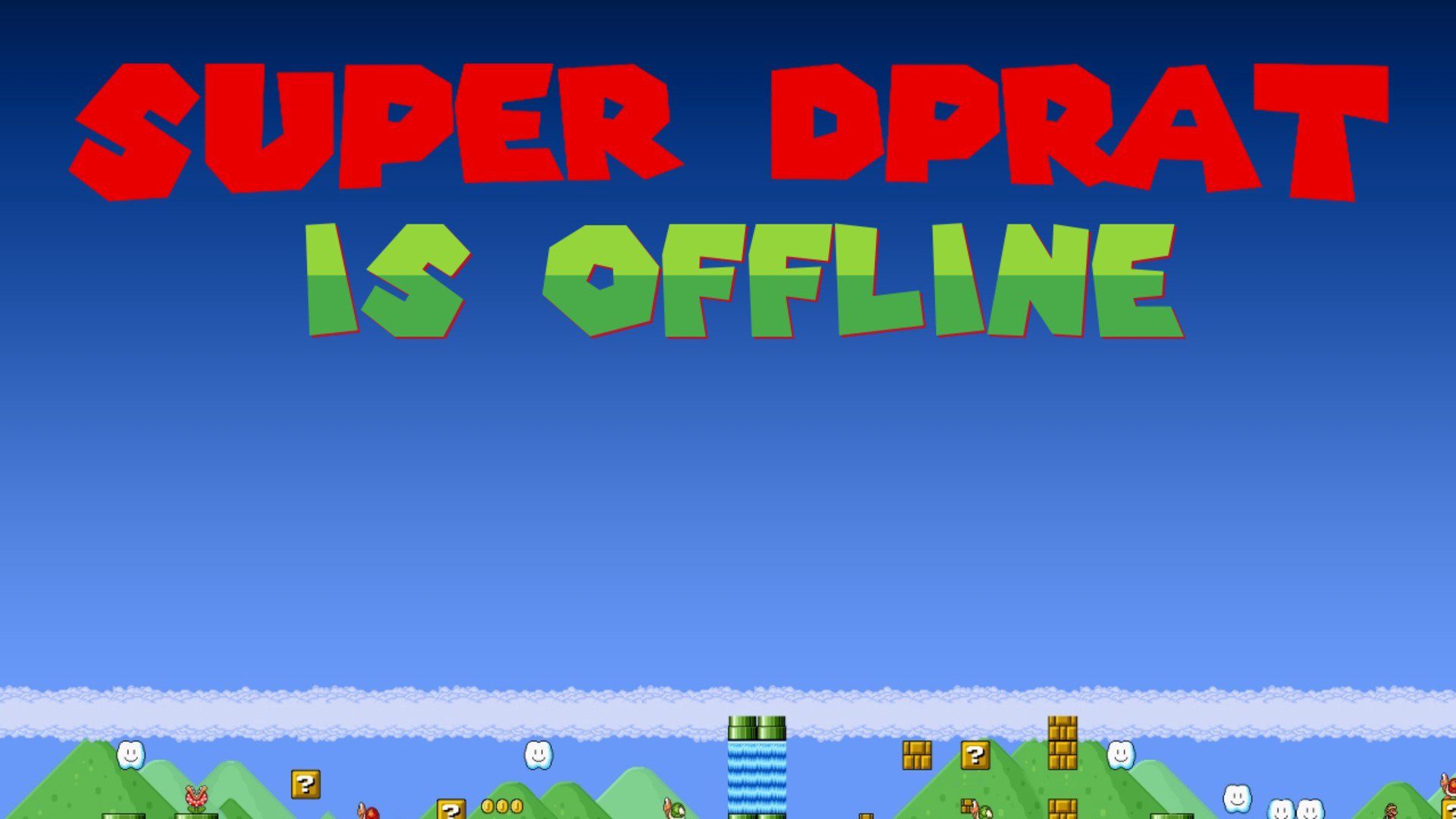 Twitch stream of SuperDPRAT