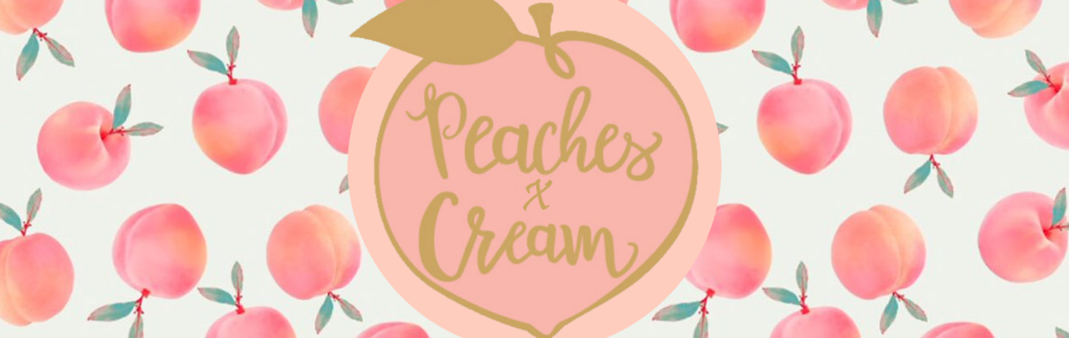 Image result for peaches and cream banner