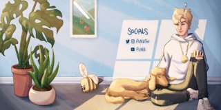 Profile banner for punz