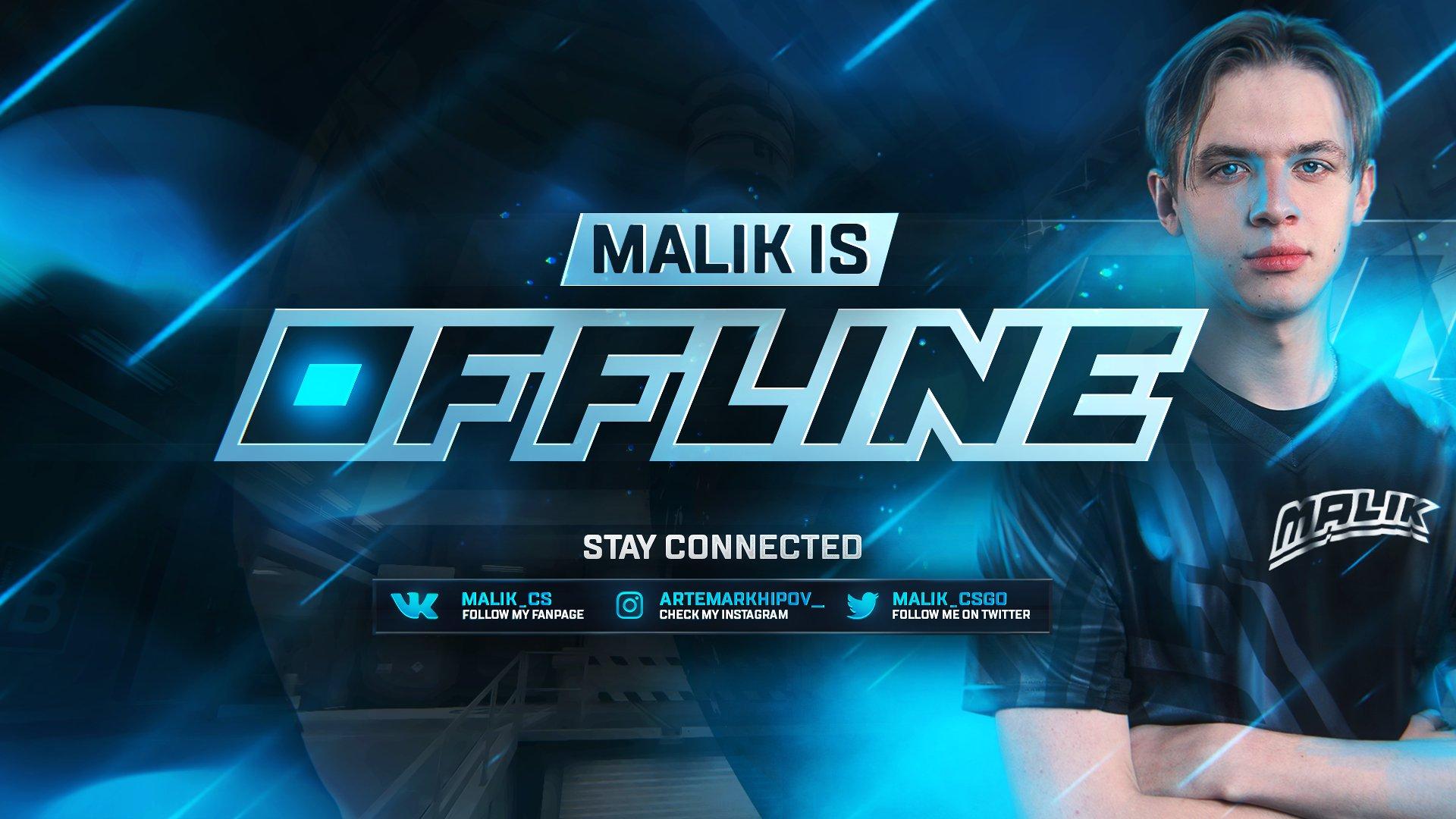 Twitch stream of malik_cs