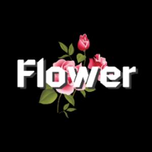 꽃우주 Logo