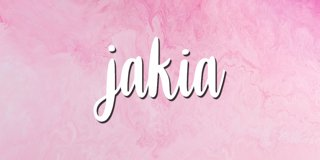 Profile banner for jakia