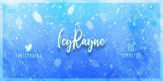 Profile banner for icyrayne
