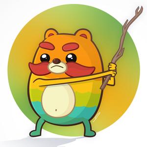 yonjuu_te Logo