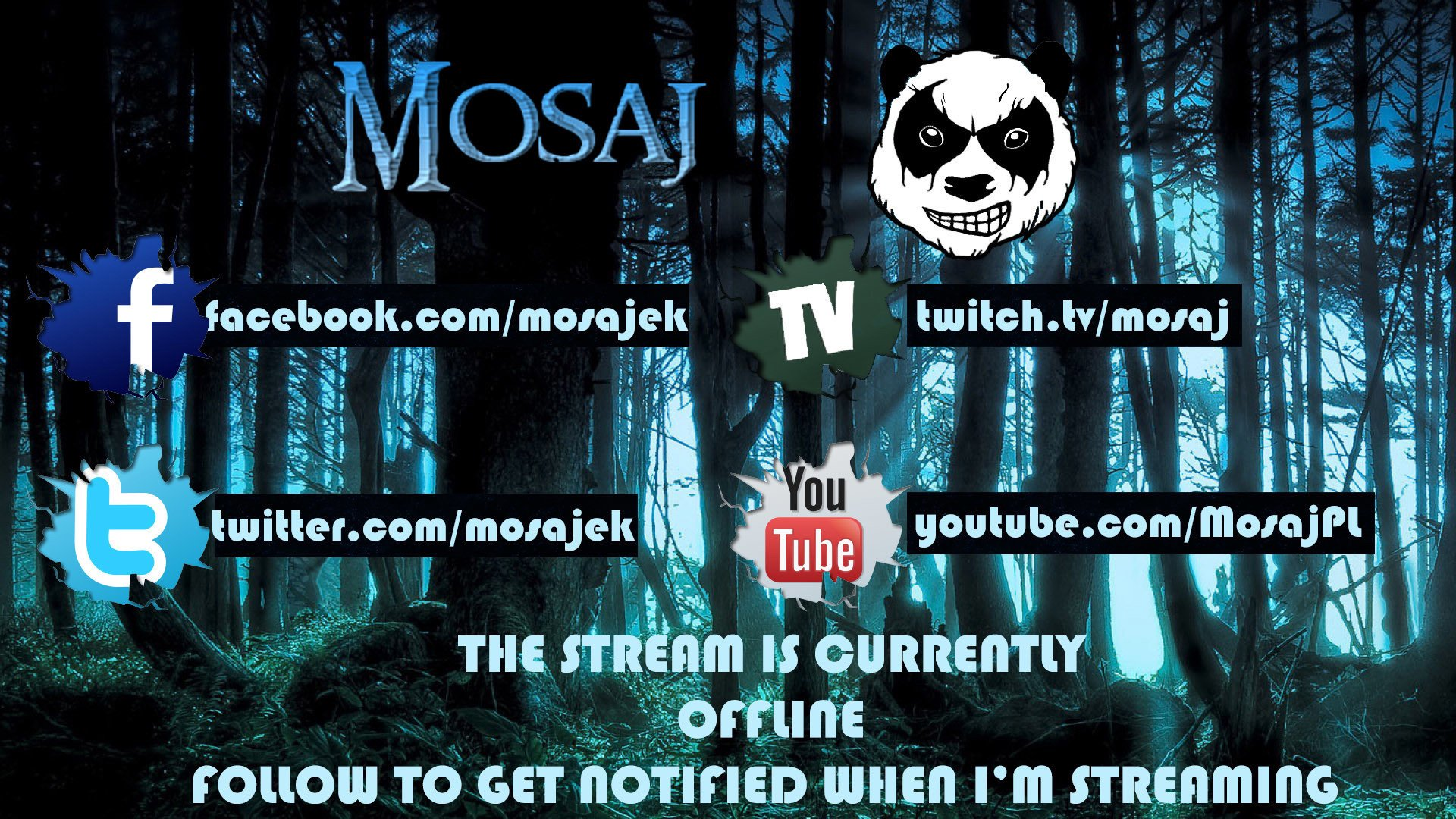 Twitch stream of Mosaj