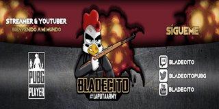 Profile banner for bladecito