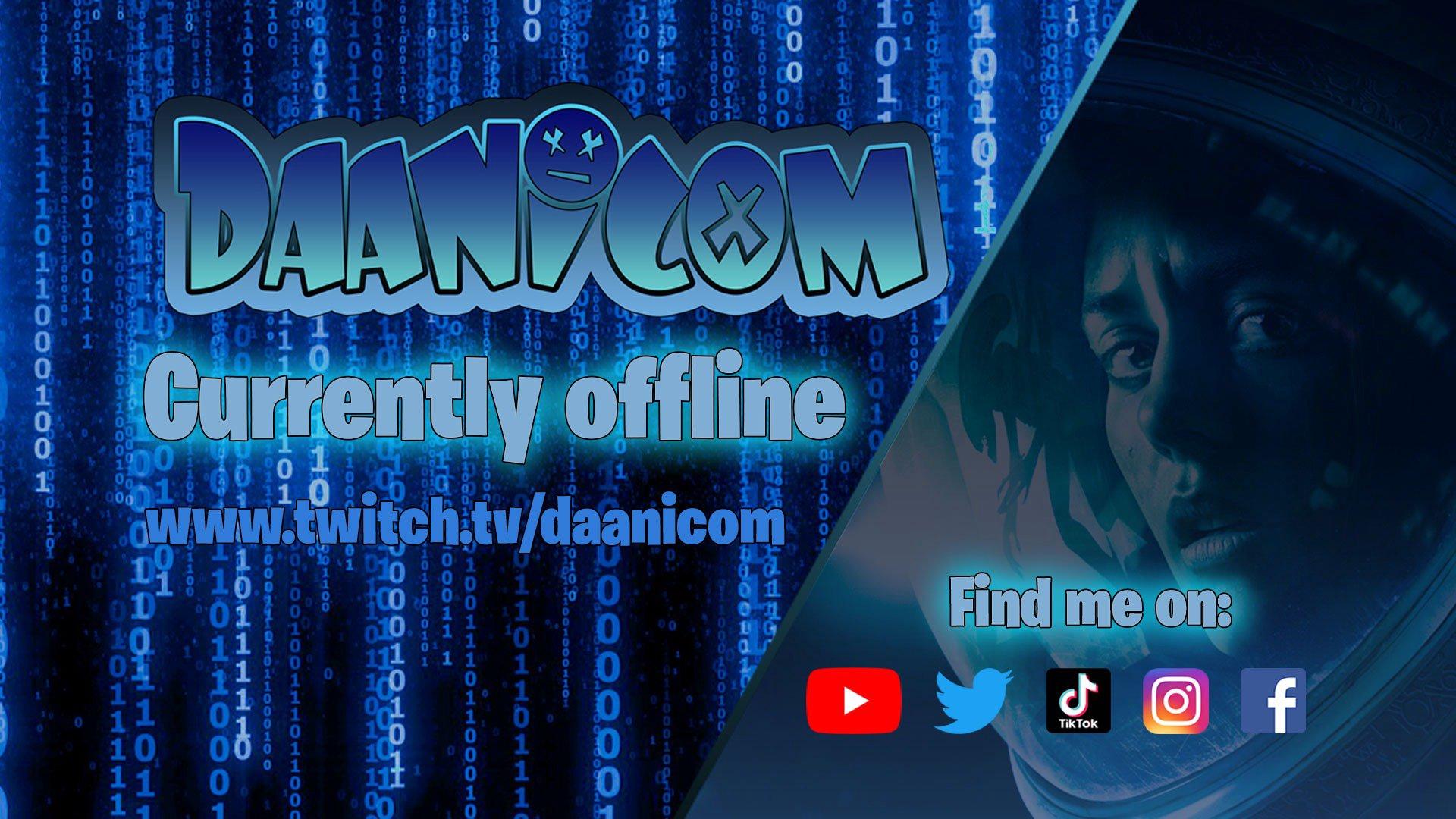 Twitch stream of daanicom