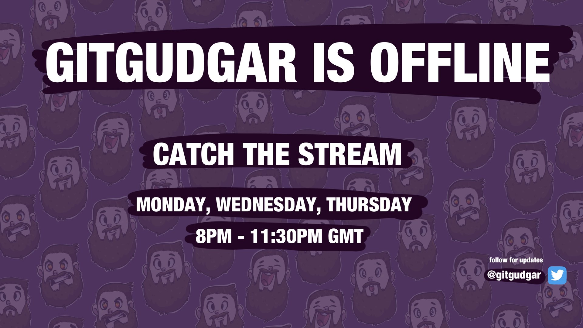 Twitch stream of GitGudGar