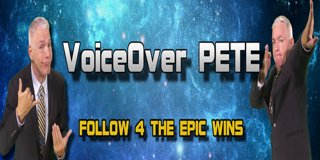 Profile banner for voiceoverpete