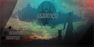 Profile banner for demisetown