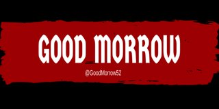 Profile banner for goodmorrow52