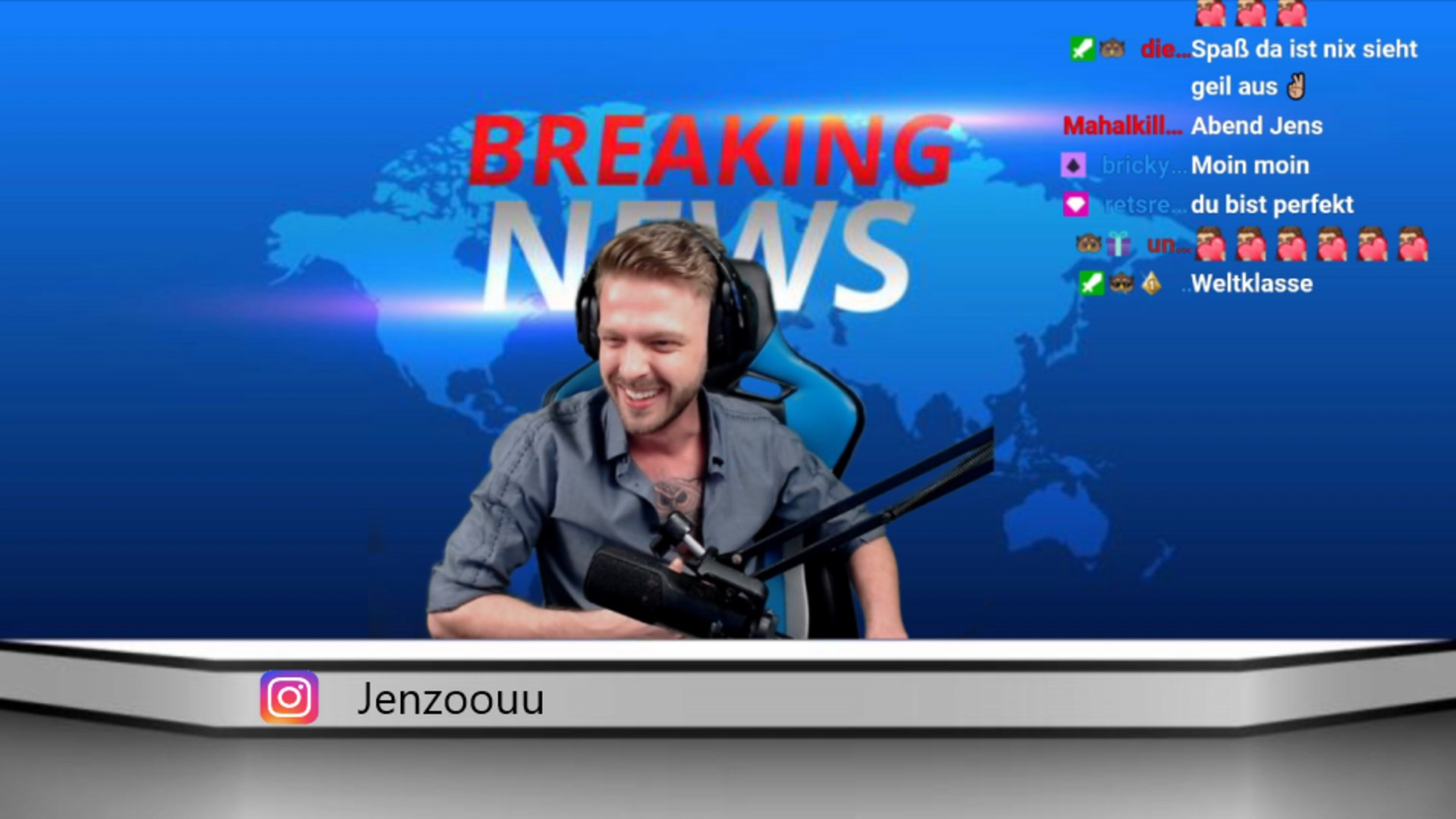 Twitch stream of Jenzoou