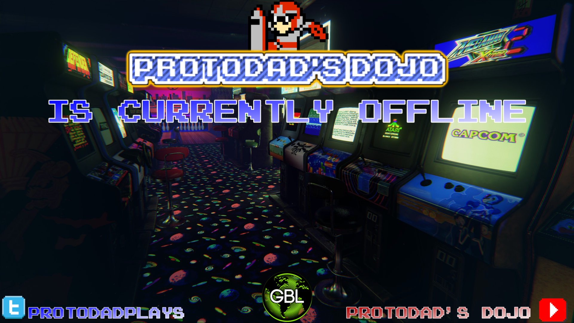 Twitch stream of ProtoDadsDojo