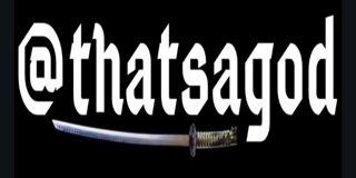 Profile banner for thatsagod