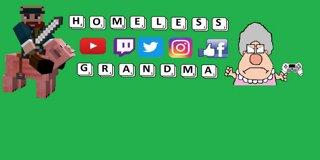 Profile banner for homelessgrandma