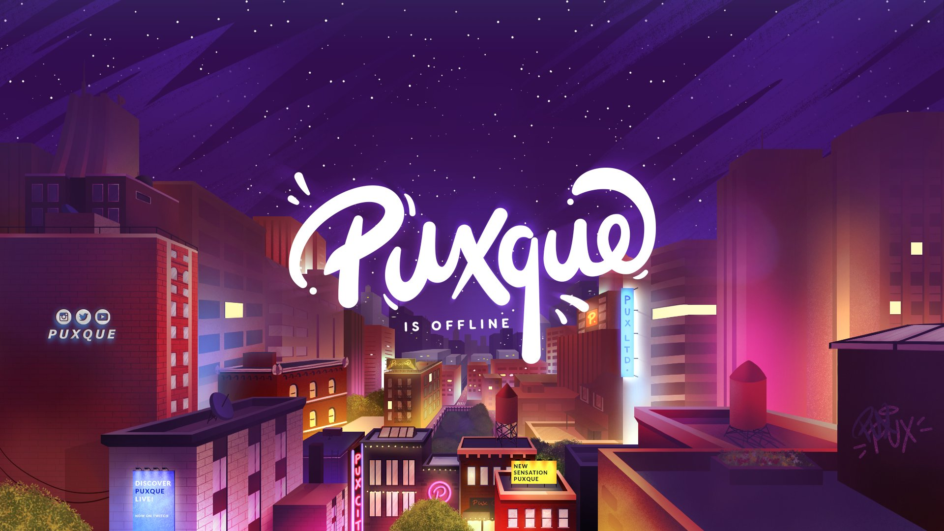 Twitch stream of Puxque
