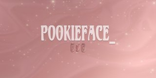 Profile banner for pookieface_