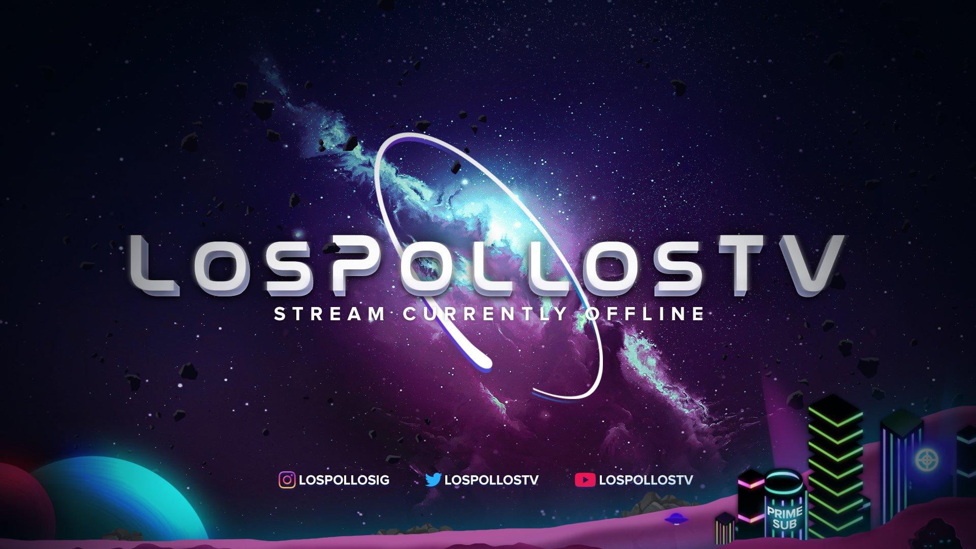 Twitch stream of LosPollosTV