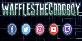 Profile banner for wafflesthegoodboy