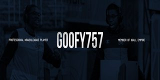 Profile banner for goofy757