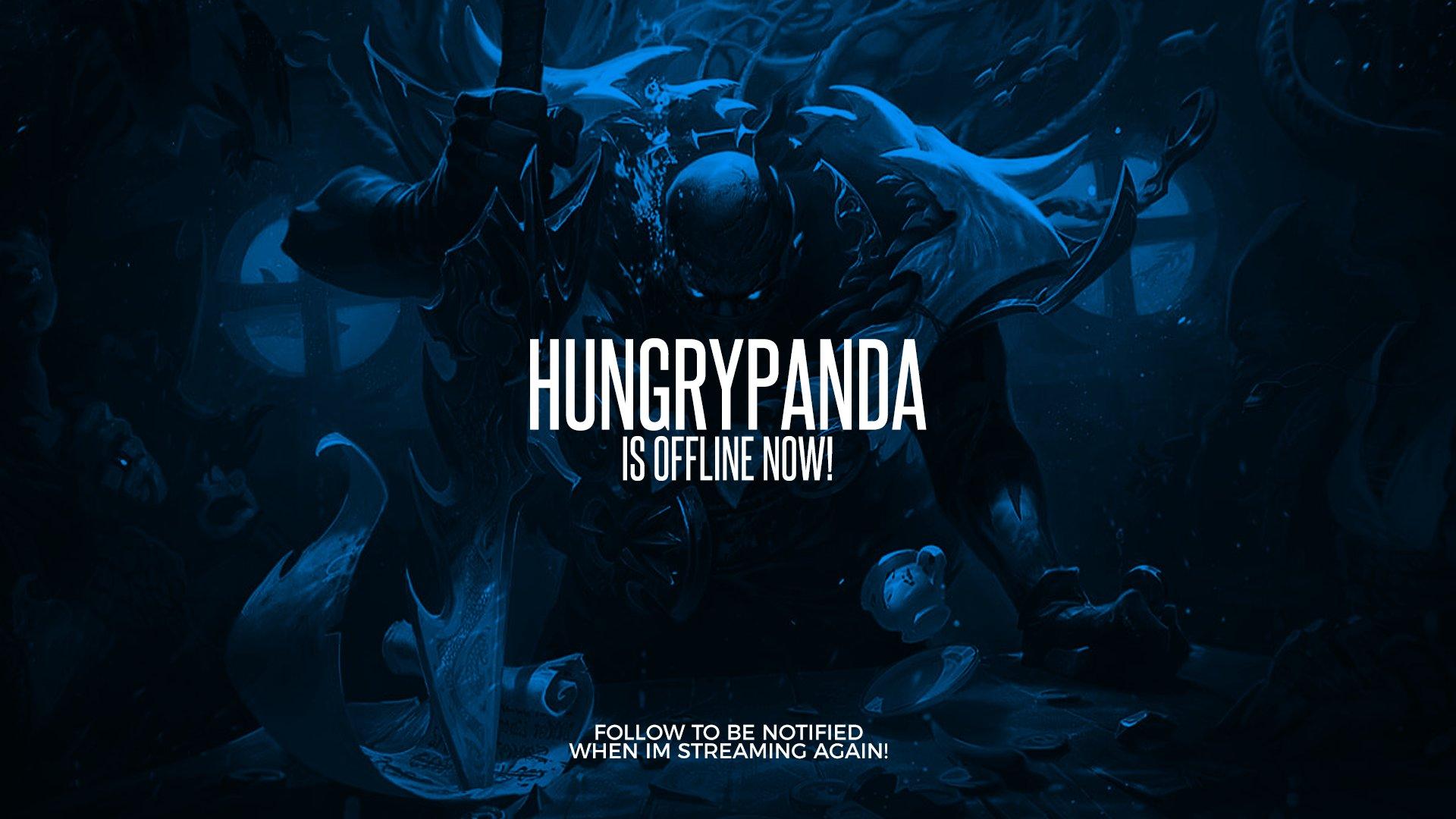 Twitch stream of HungryPandaLOL