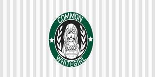 Profile banner for commonwhitegirl