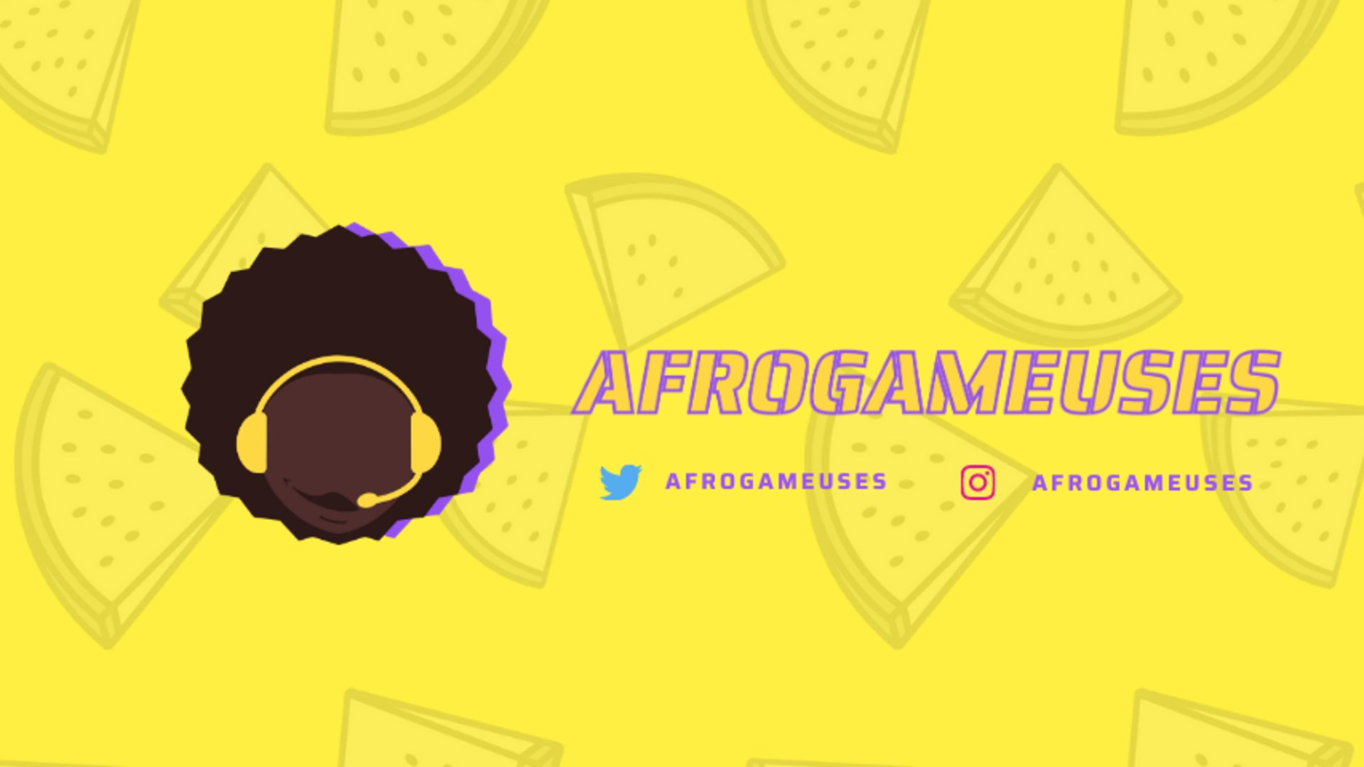 Twitch stream of Afrogameuses