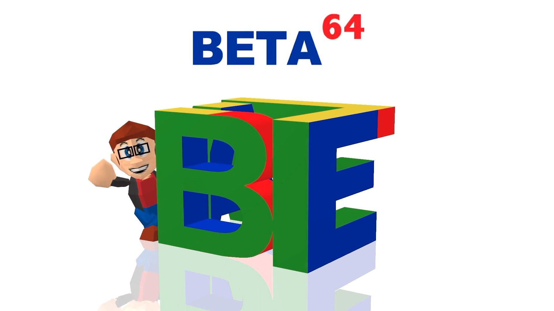 Twitch stream of Beta64