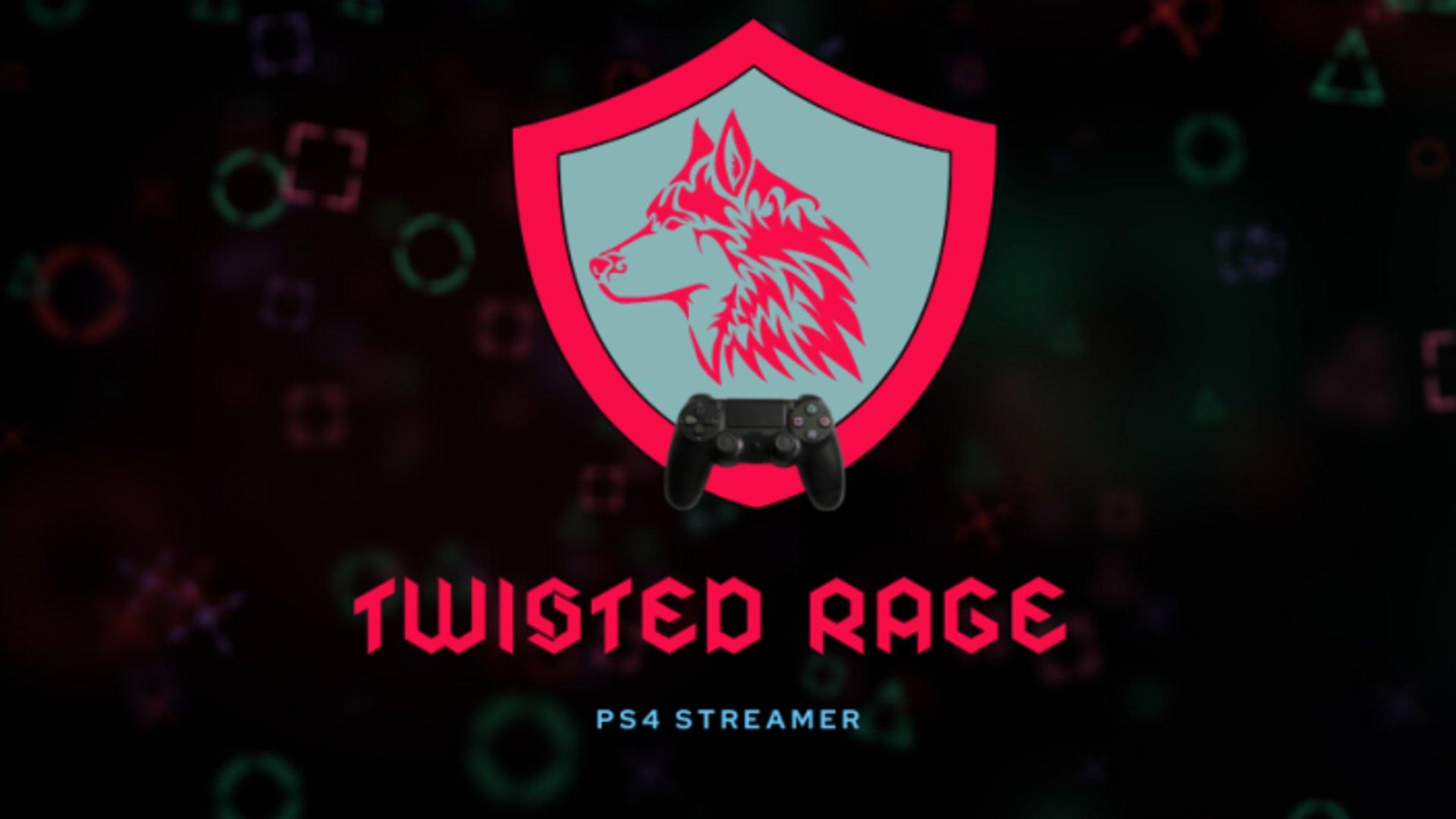 Twitch stream of TwistedRageWolves