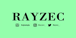 Profile banner for rayzec